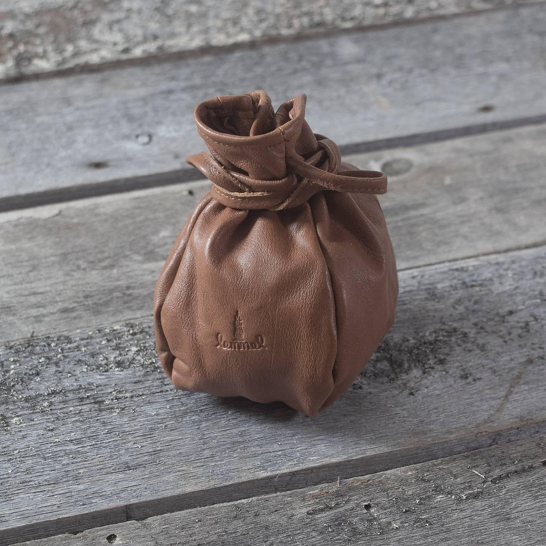 Lemmel Kaffepose i elgskinn