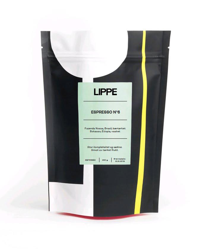 LIPPE Espresso No6 Økologisk 250g