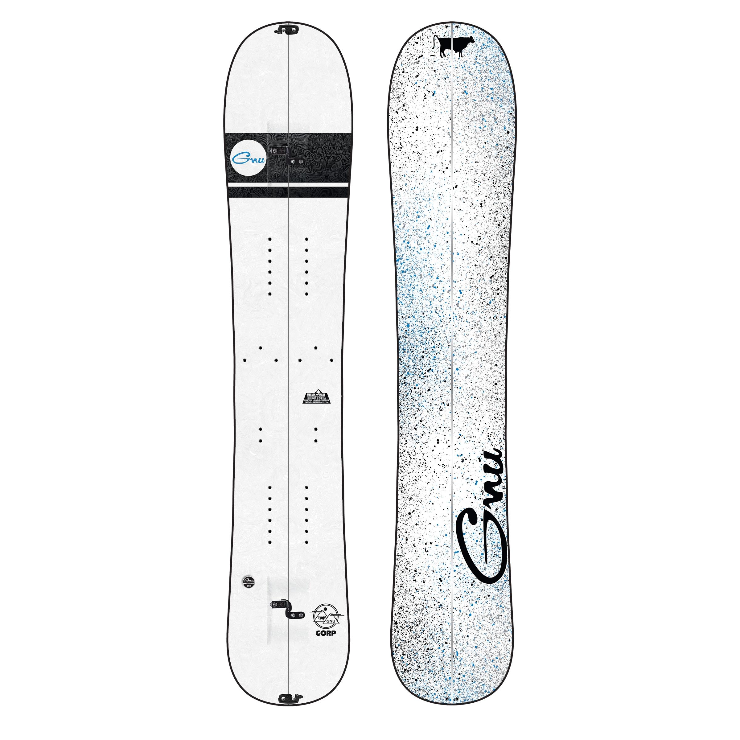 Gnu Gorp Splitboard 159cm