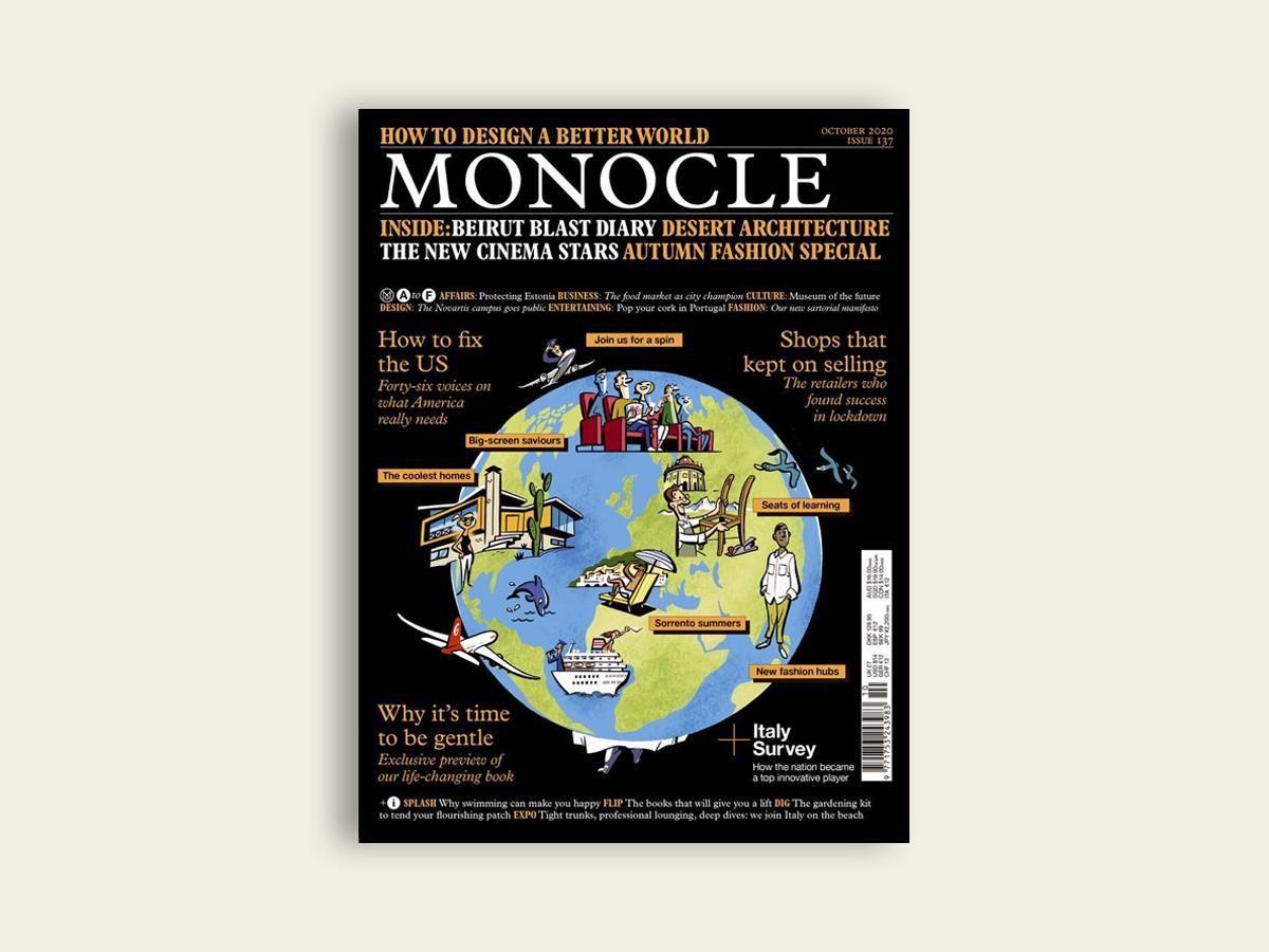 Monocle, Oct 2020