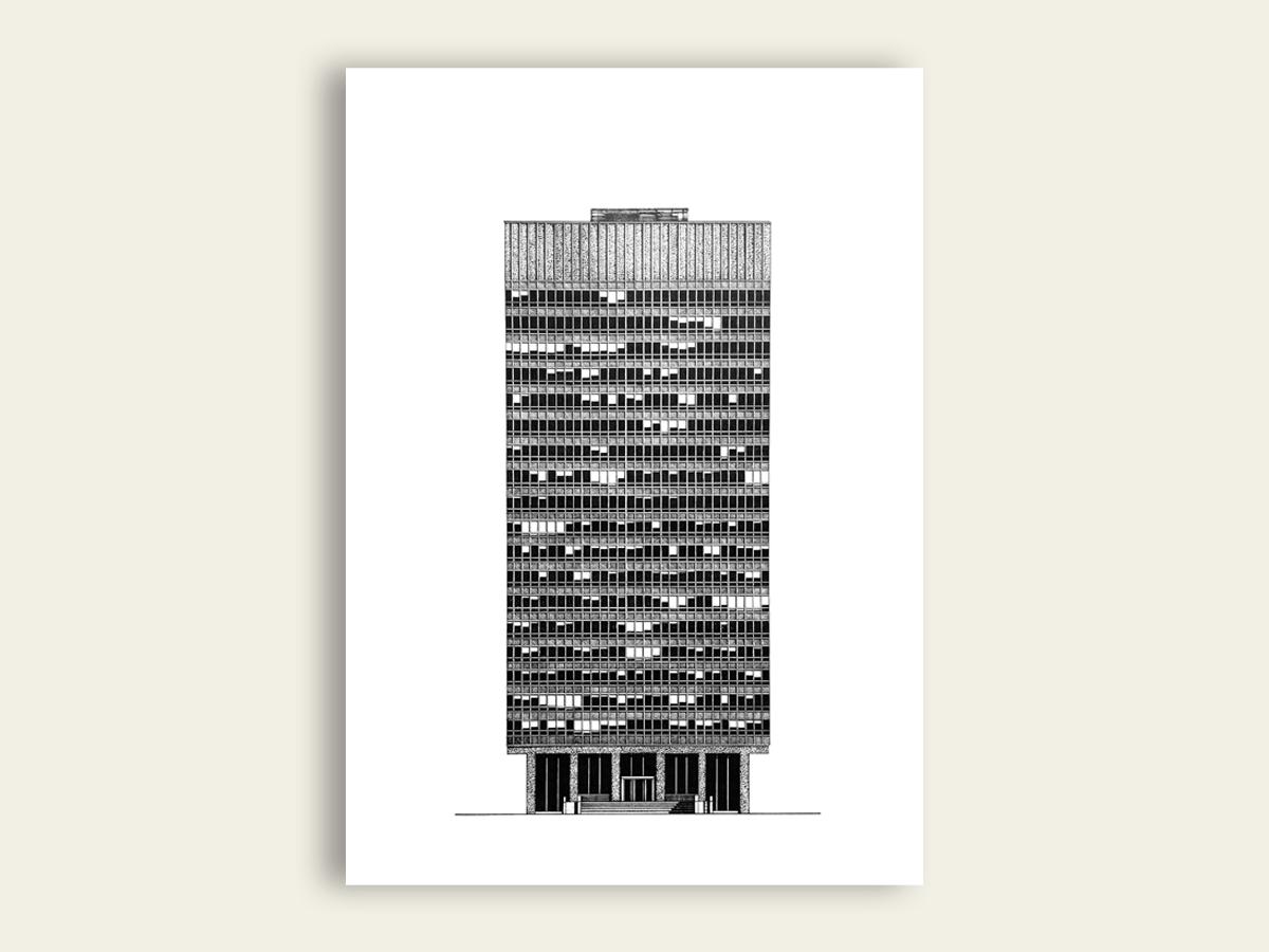 Arts Tower, Nick Coupland
