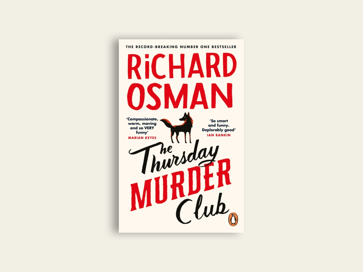The Thursday Murder Club by Richard Osman (signed) (indie exclusive)