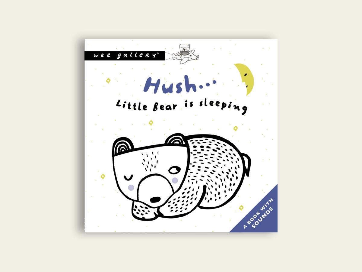 Hush... Little Bear Is Sleeping by Surya Sajnani