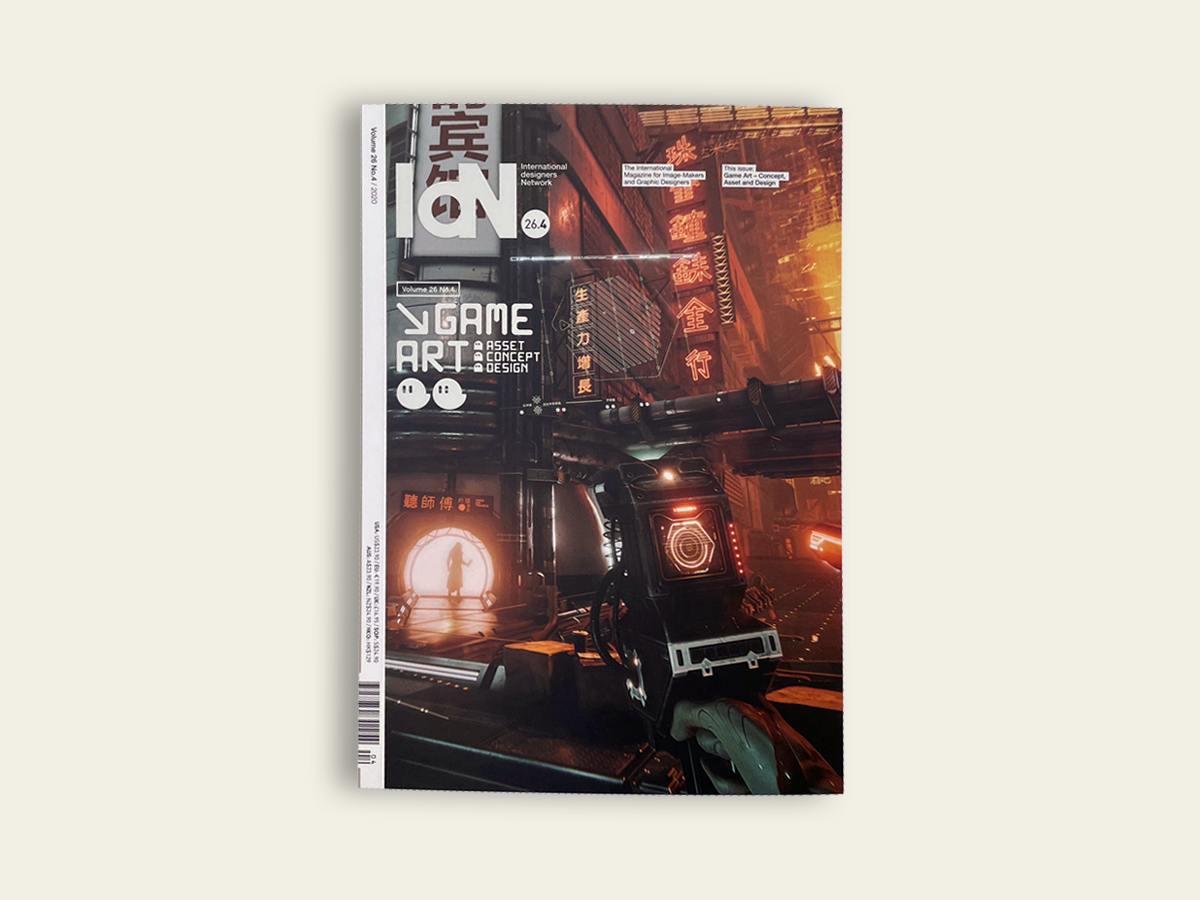 IdN #26.4: Game Art Graphics
