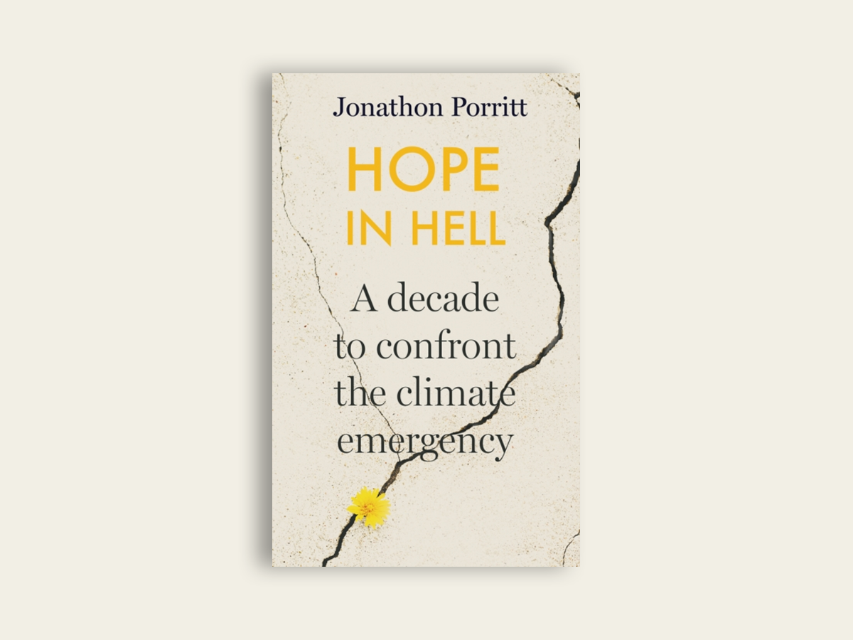 Hope in Hell : A decade to confront the climate emergency by Jonathon Porritt