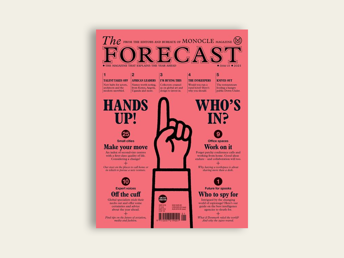 Monocle Forecast 2021