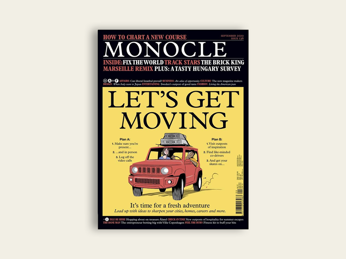 Monocle, Sept 2020