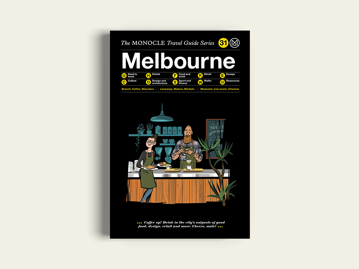 Monocle Travel Guide, Melbourne