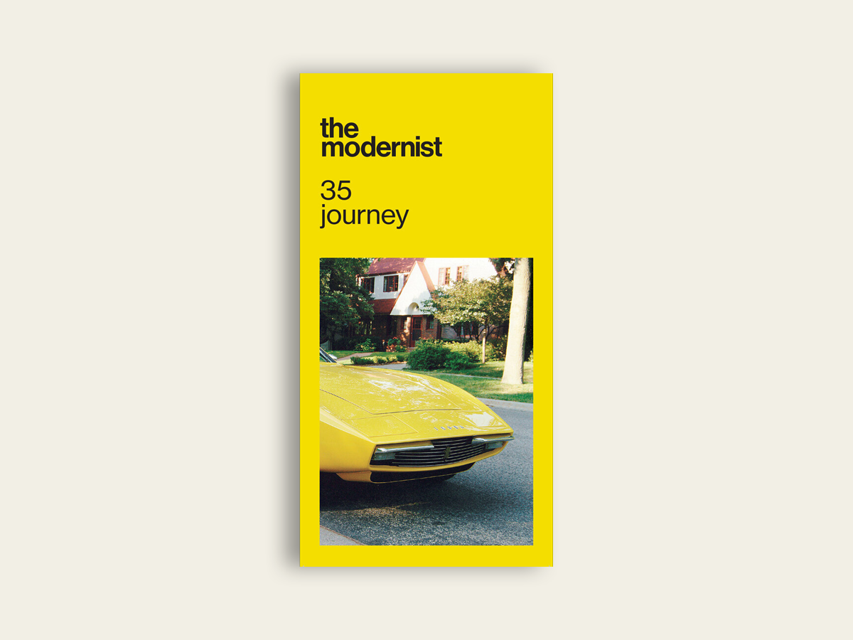 The Modernist #35: Journey