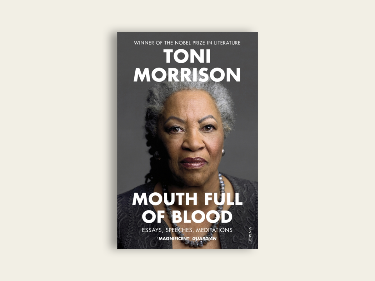Mouth Full of Blood, Toni Morrison