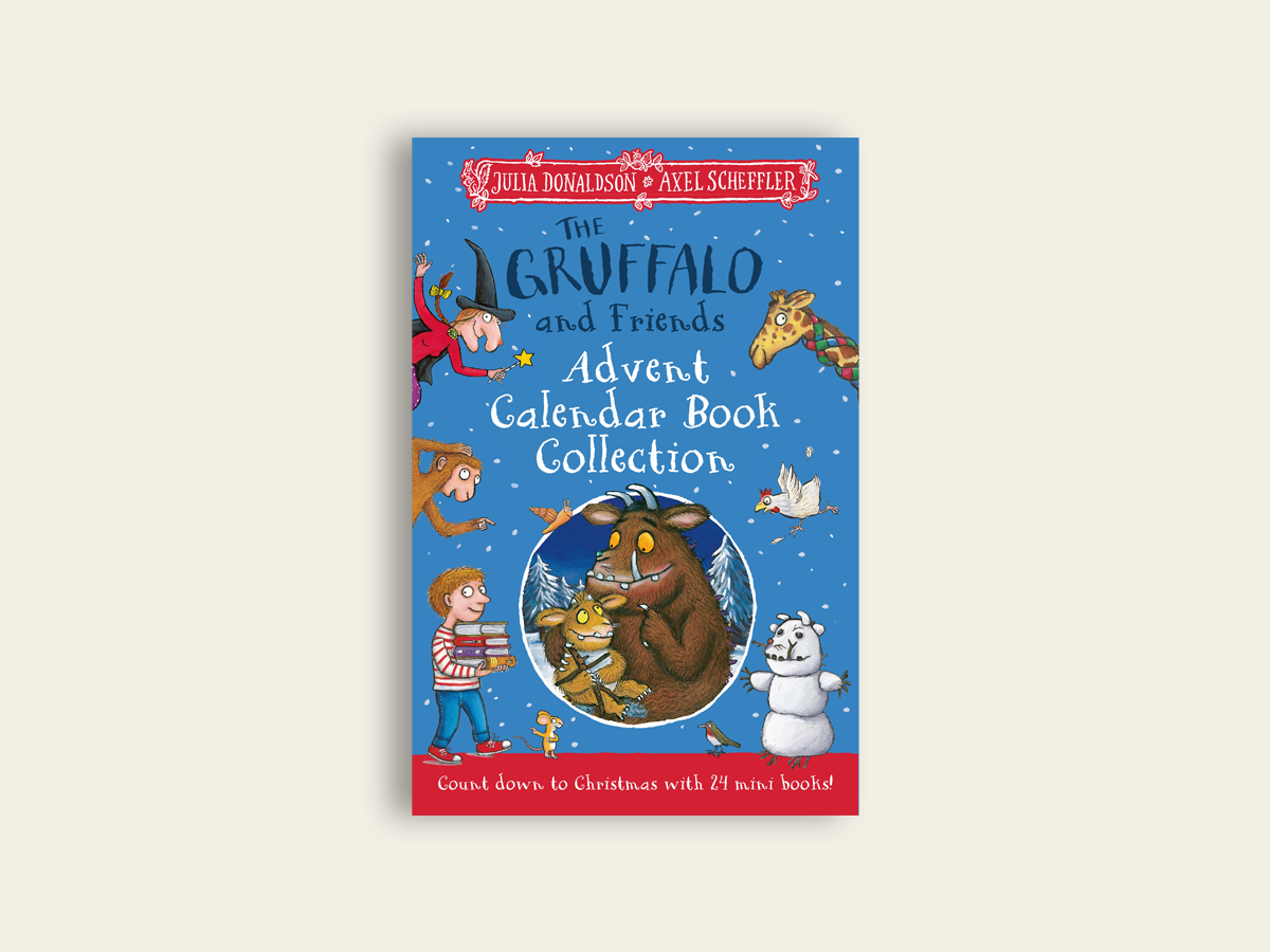 The Gruffalo and Friends Advent Calendar Book Collection by Julia Donaldson