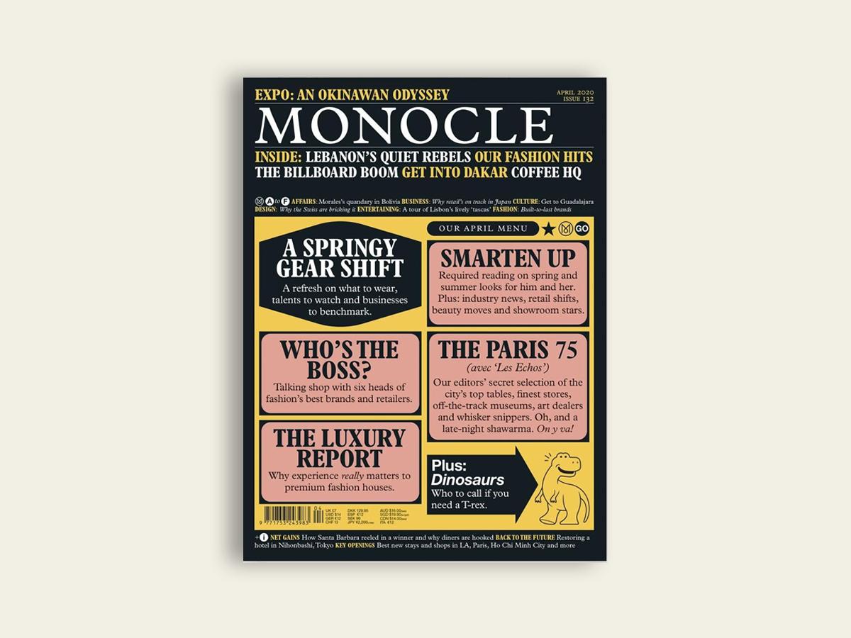 Monocle #132: April 2020
