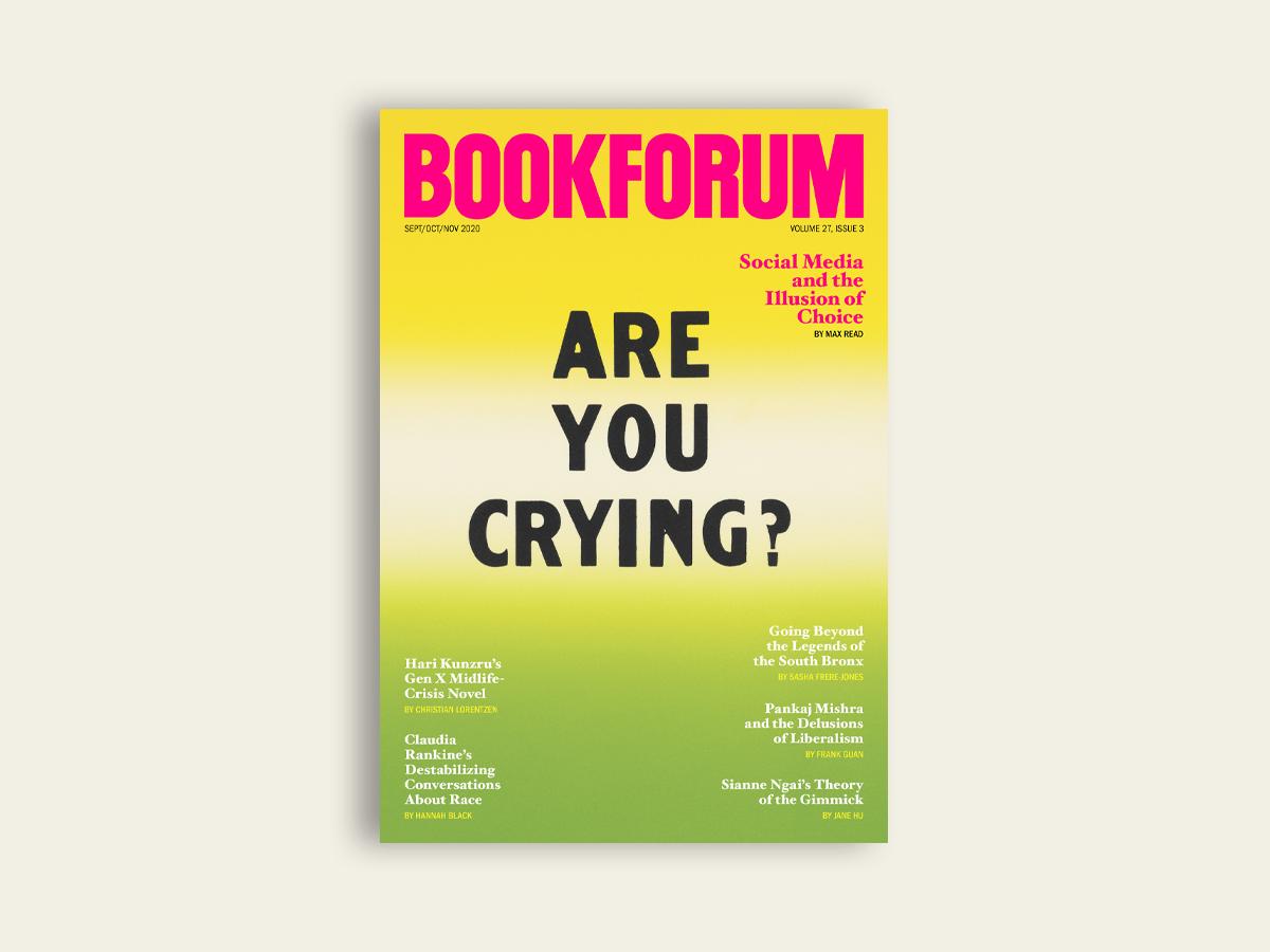 Bookforum, Sep-Nov 2020