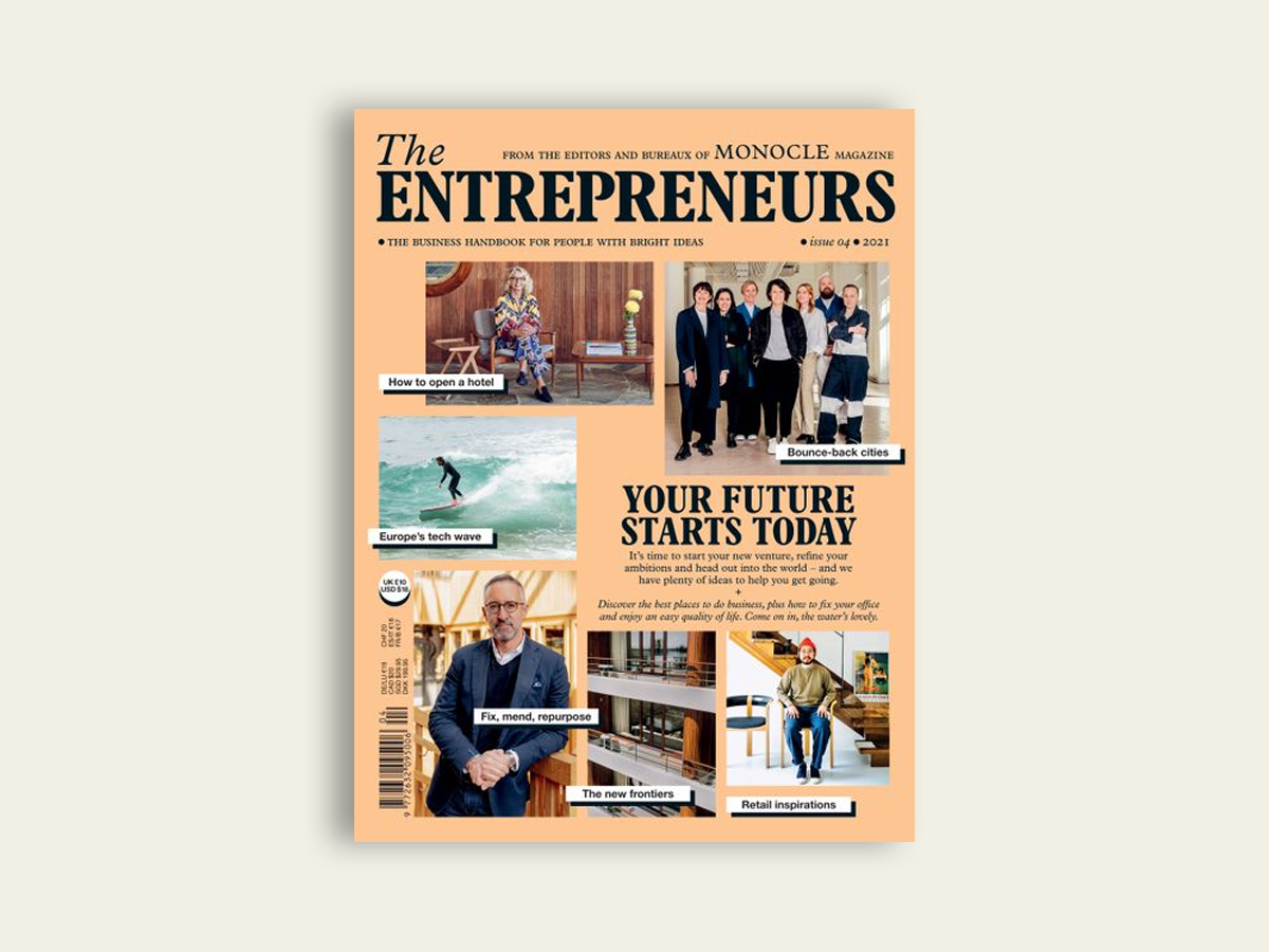 The Entrepreneurs #4 by Monocle