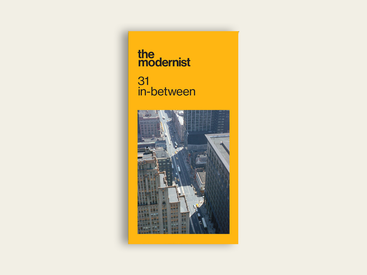 The Modernist #31
