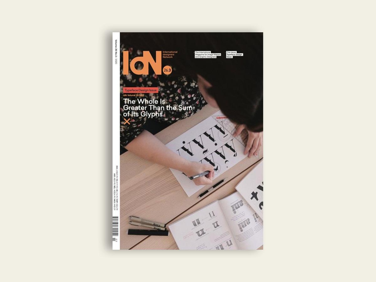 IdN #26.3: Typeface Design