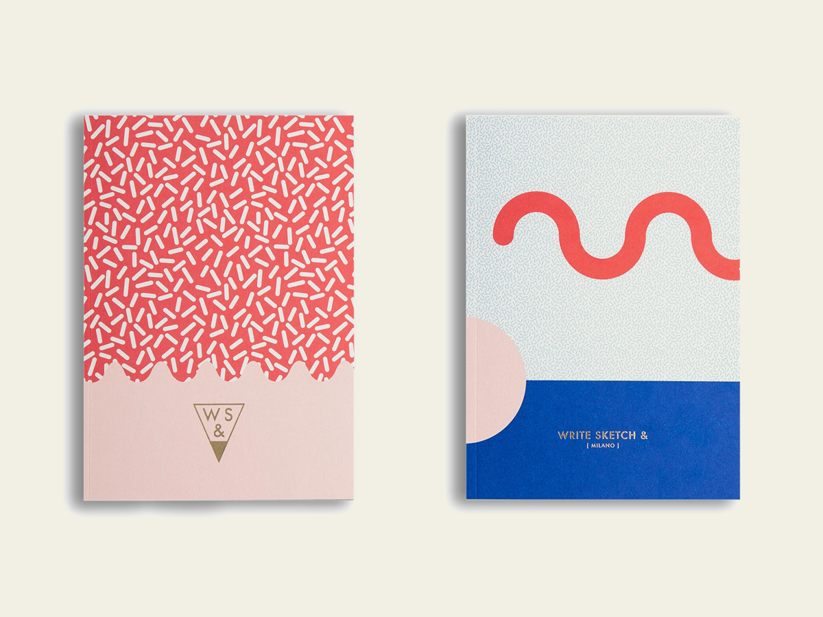 Double Cover notebooks, WS&
