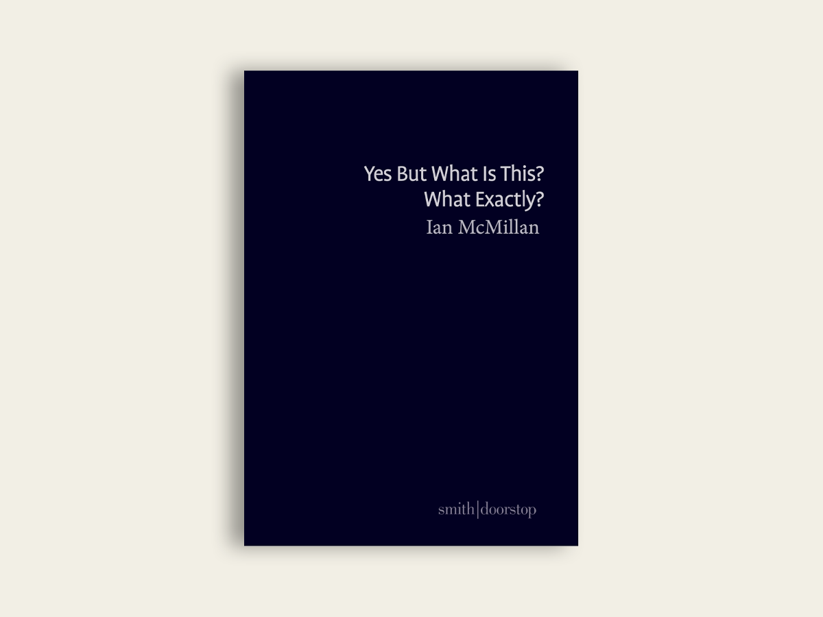 Yes But What Is This? What Exactly? by Ian McMillan
