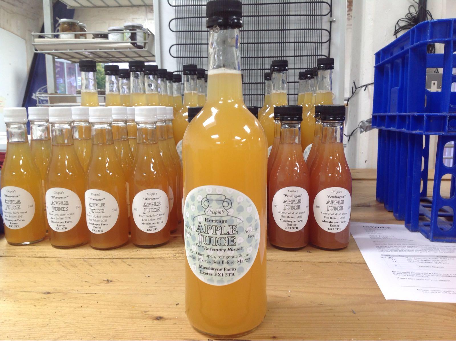 Crispin's Apple juice large