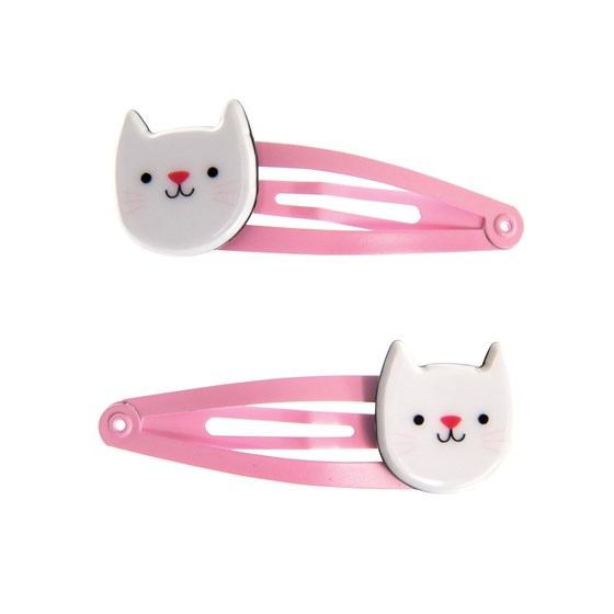 HAIRCLIPS - COOKIE CAT (SET OF 2)