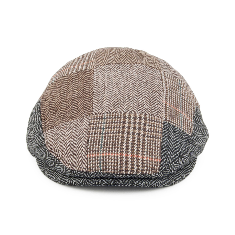 BABY PATCHWORK FLAT CAP MULTI-COLOURED
