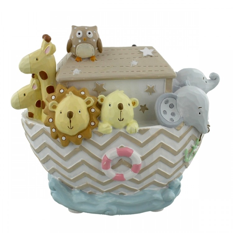 NOAHS ARK RESIN MONEY BOX