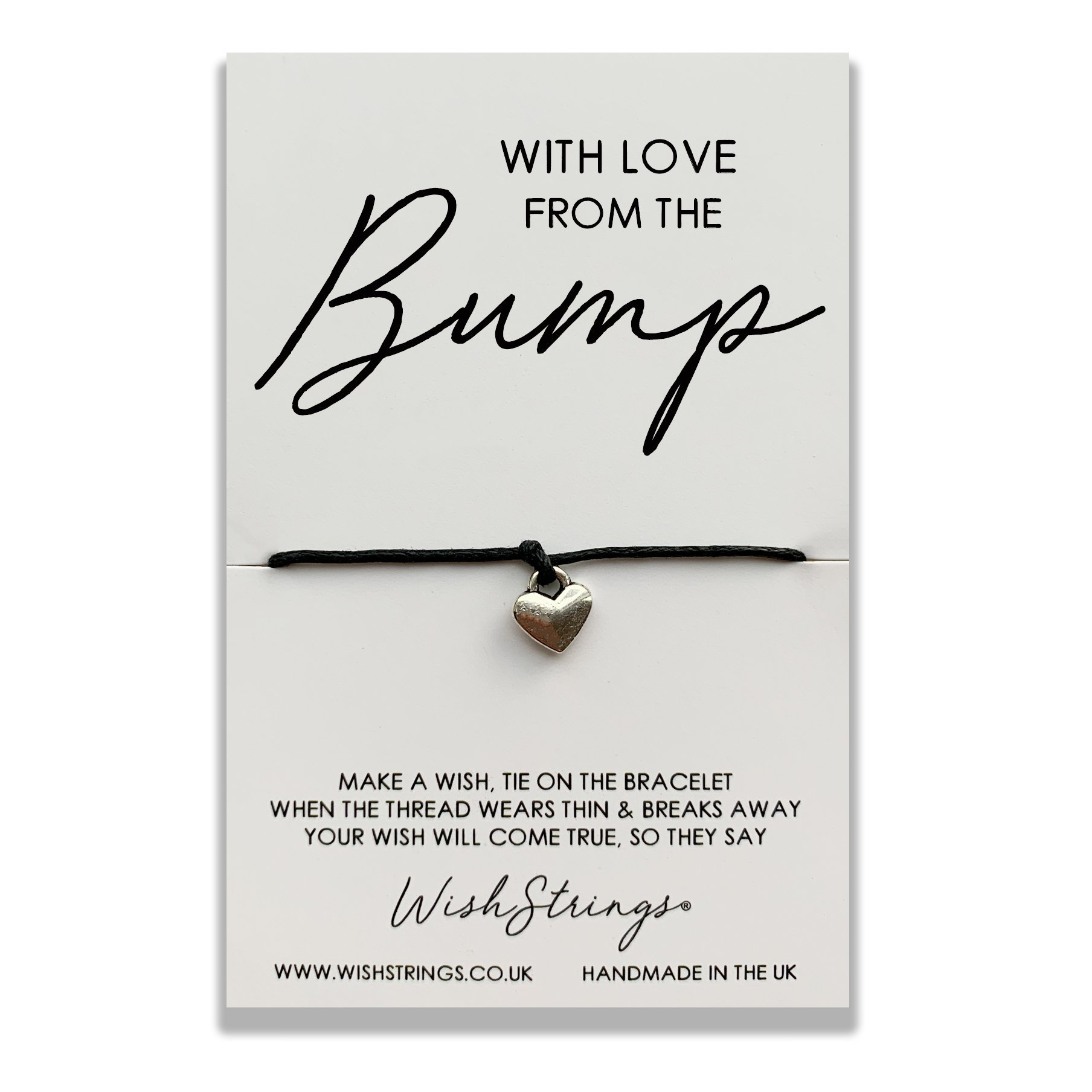 WITH LOVE FROM THE BUMP WISHSTRING