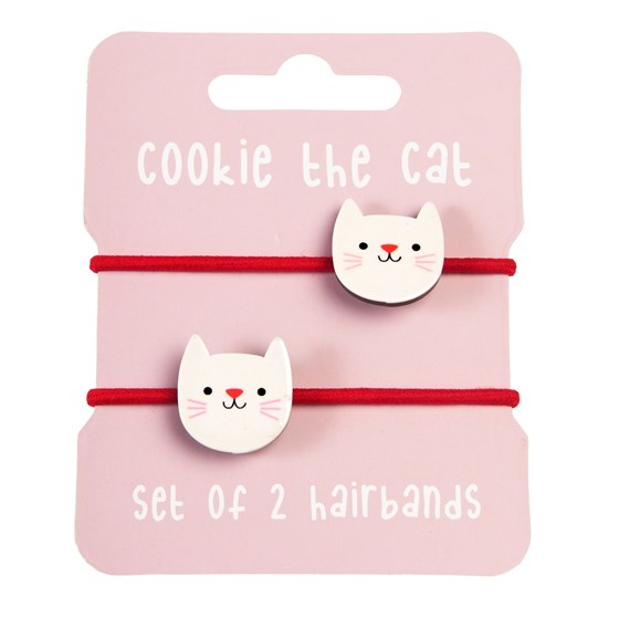 HAIRBANDS - COOKIE CAT (SET OF 2)
