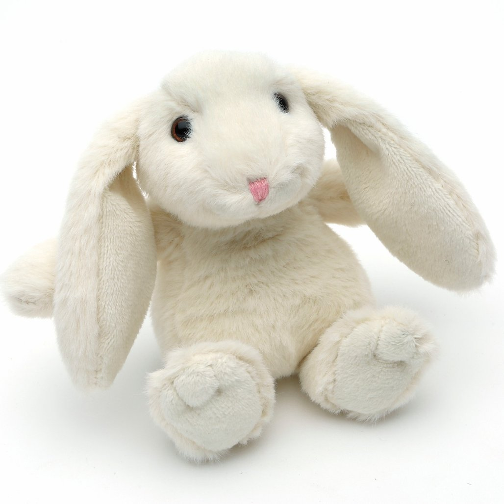 SMALL CREAM SNUGGLY BUNNY JOMANDA