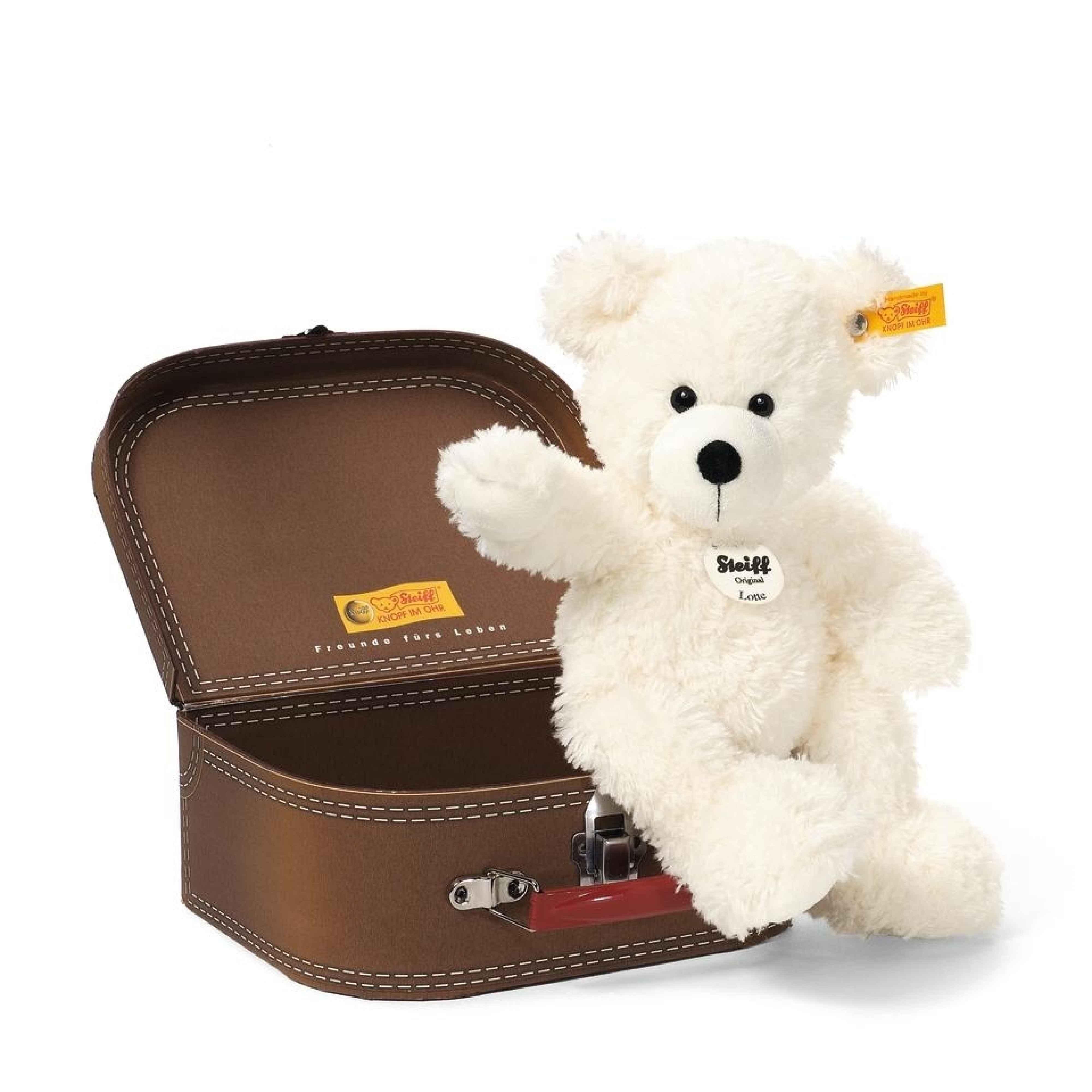 LOTTE TEDDY BEAR IN SUITCASE