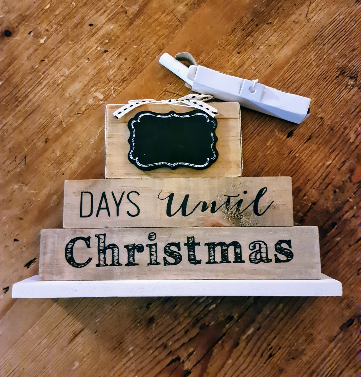 STANDING DAYS UNTIL CHRISTMAS COUNTDOWN