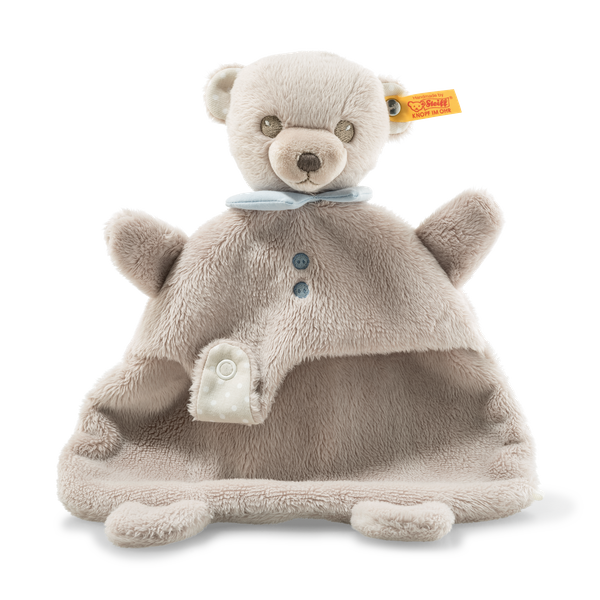 HELLO BABY LEVI TEDDY BEAR COMFORTER IN A BOX