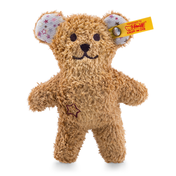 MINI TEDDY BEAR WITH RUSTLING FOIL AND RATTLE