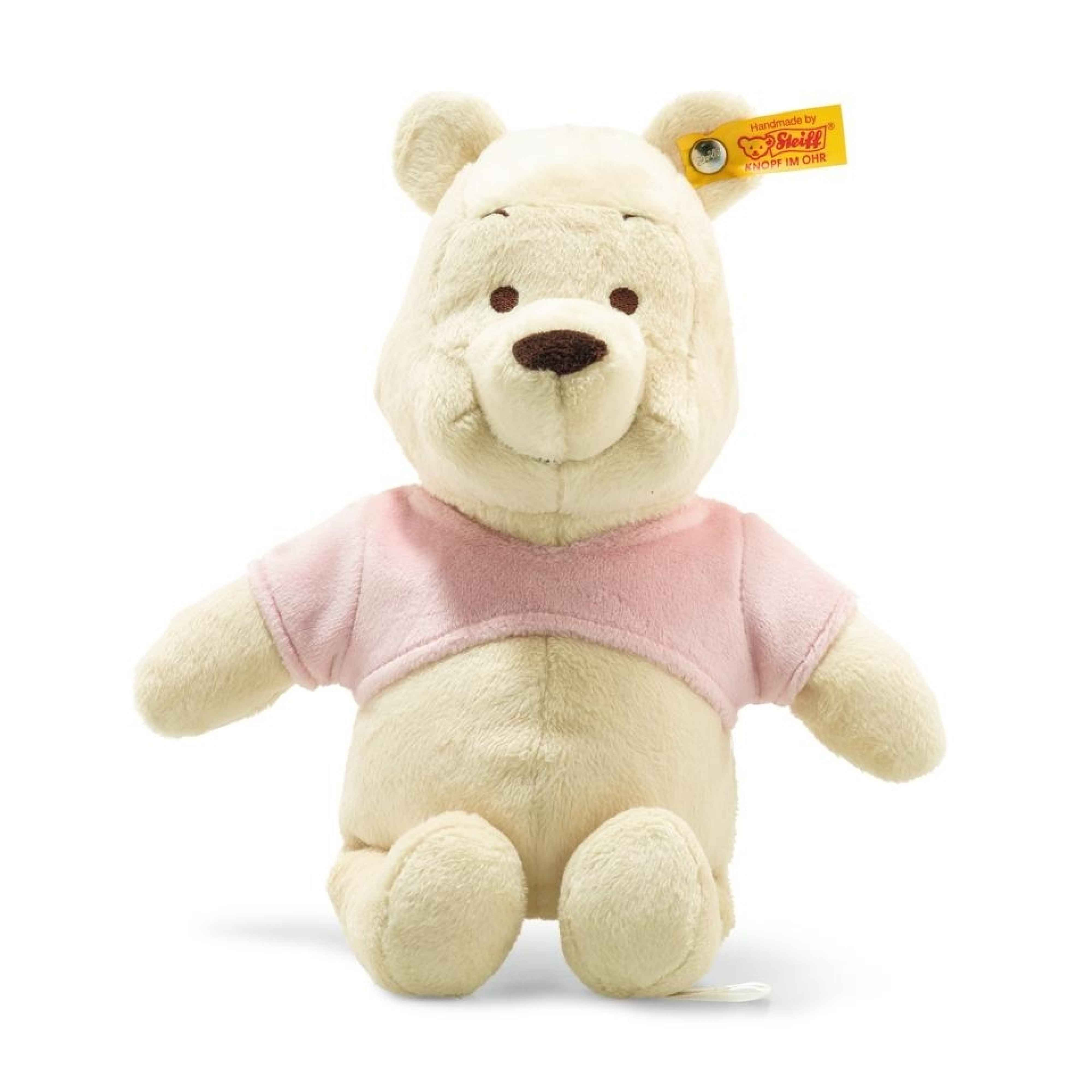 DISNEY WINNIE THE POOH WITH SQUEAKER AND RUSTLING FOIL