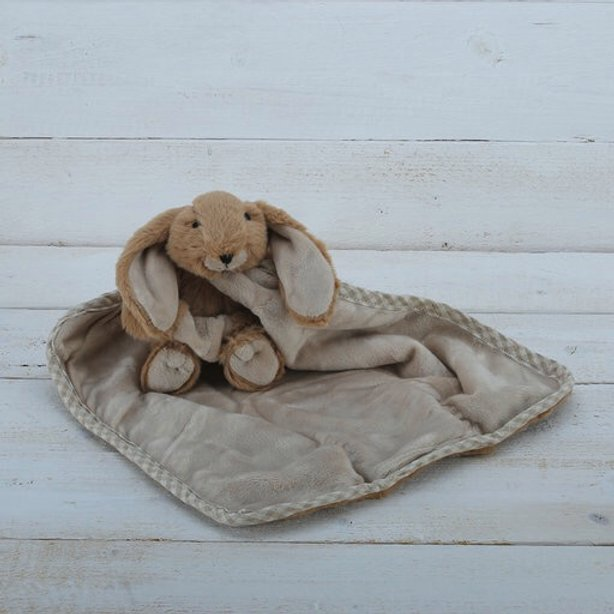 BROWN BUNNY TOY SOOTHER JOMANDA