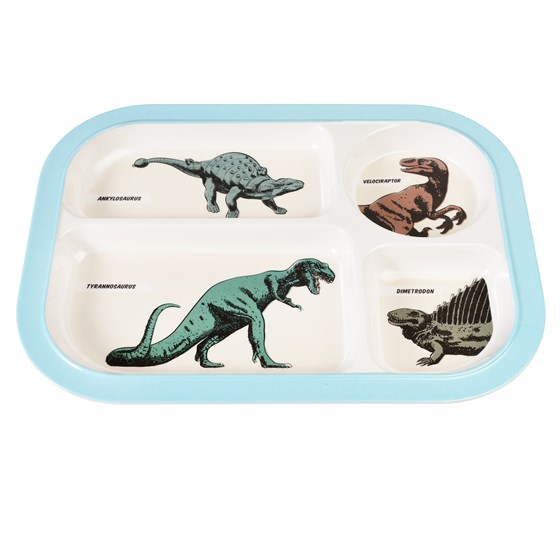 MELAMINE - PREHISTORIC FOOD MELAMINE FOOD TRAY