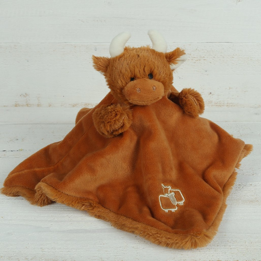 HIGHLAND COO SOOTHER/FINGER PUPPET JOMANDA