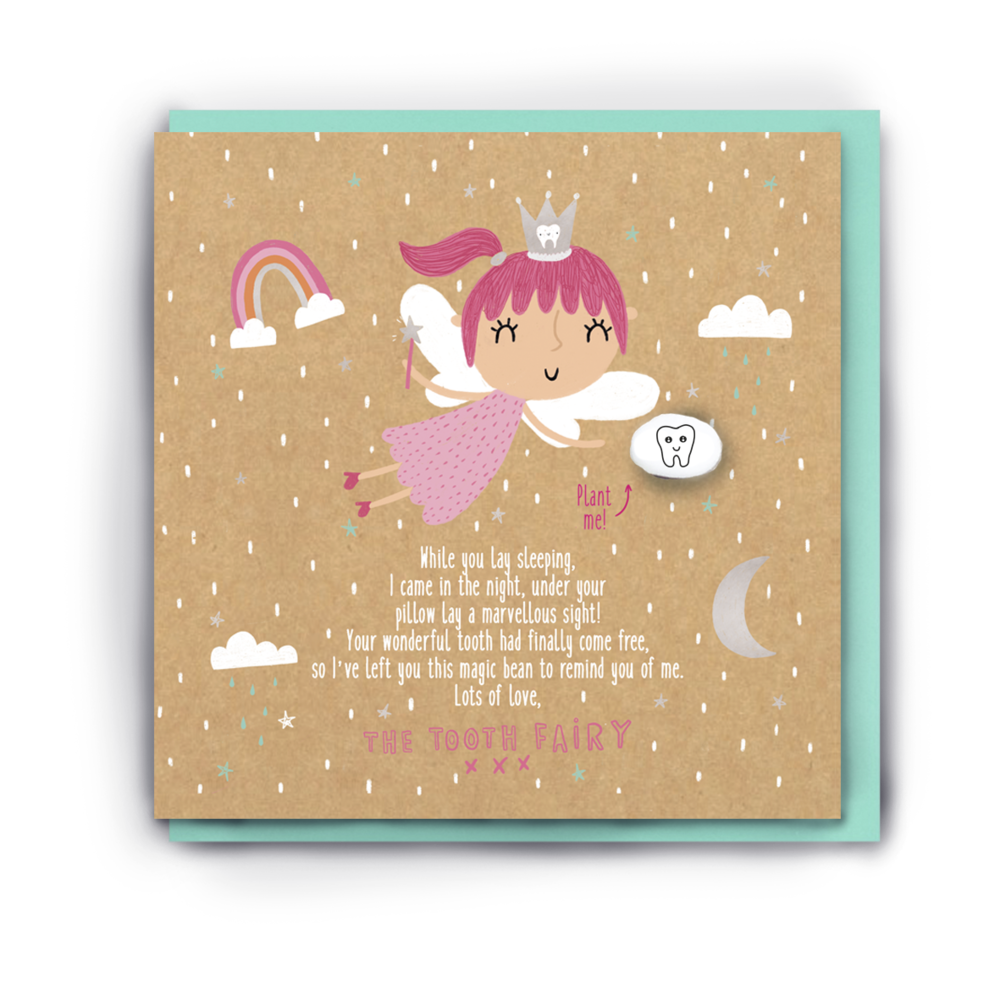 GIRLS MAGICAL TOOTH FAIRY LETTER