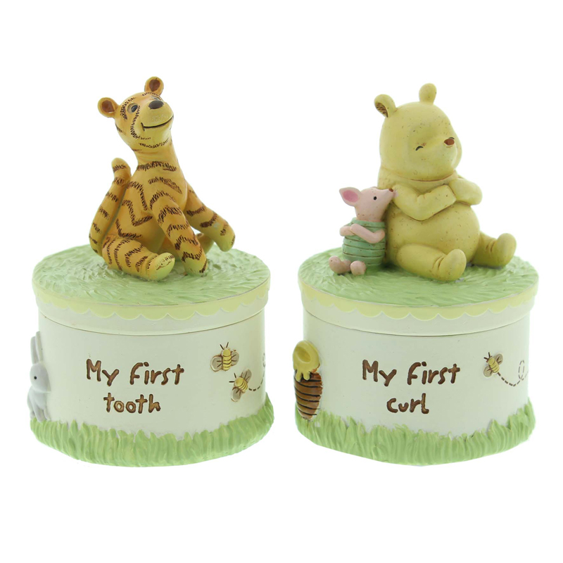 DISNEY CLASSIC POOH HERITAGE TOOTH & CURL SET