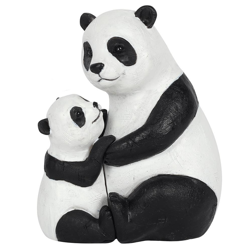 PANDA MOTHER AND BABY ORNAMENT