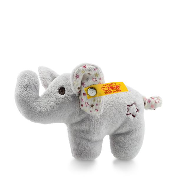 MINI ELEPHANT WITH RUSTLING FOIL AND RATTLE