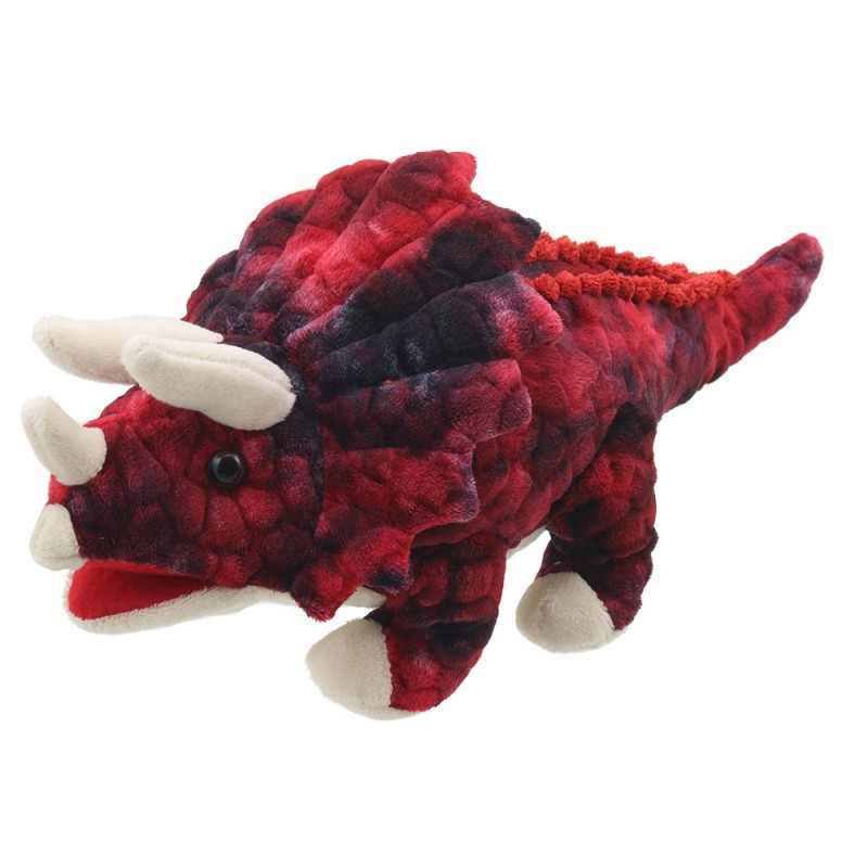BABY DINOS - BABY TRICERATOPS RED