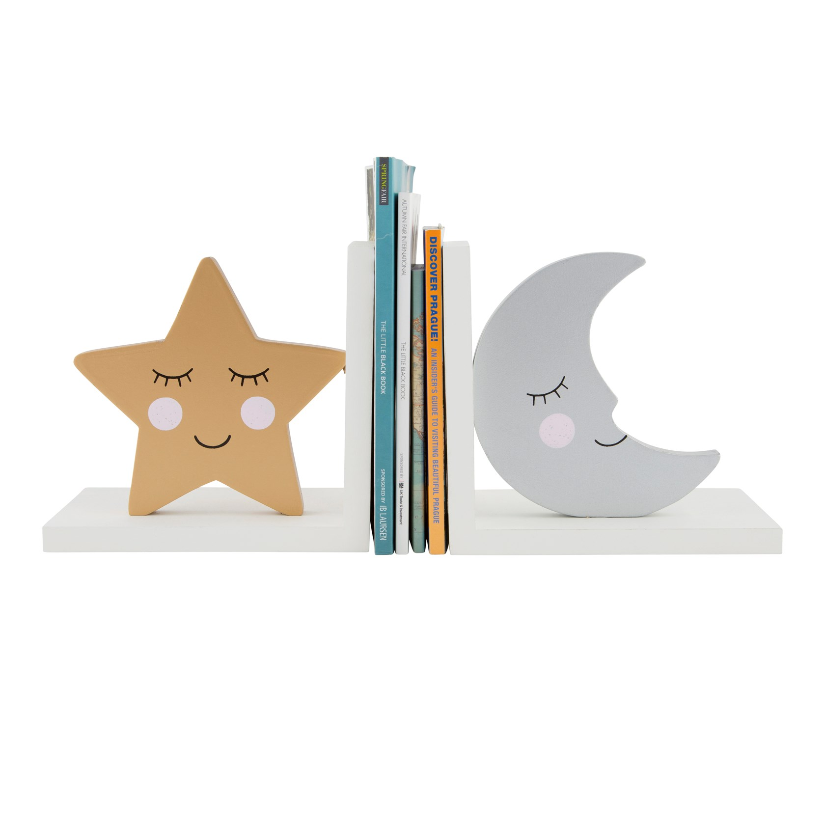 BOOKENDS - SWEET DREAMS STAR & MOON