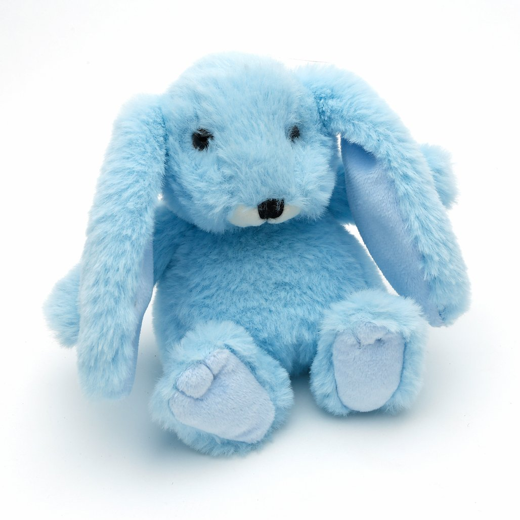 SMALL BABY BLUE SNUGGLY BUNNY JOMANDA