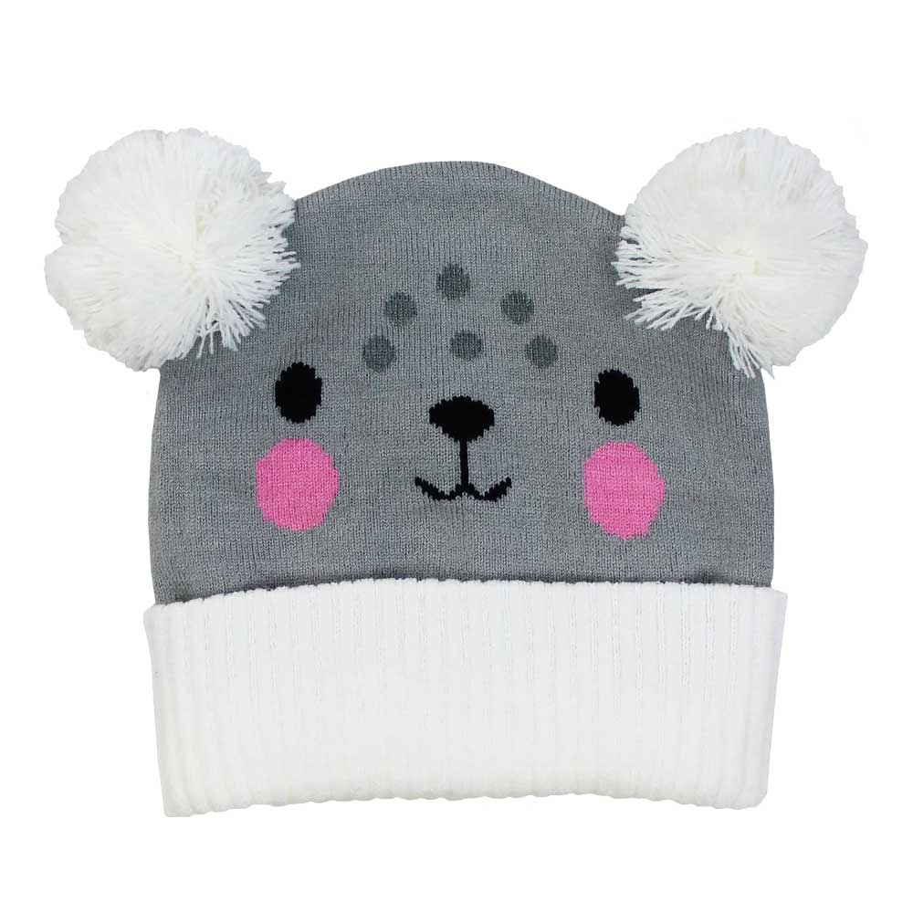 KNITTED HAT BEAR 1-3 YEARS