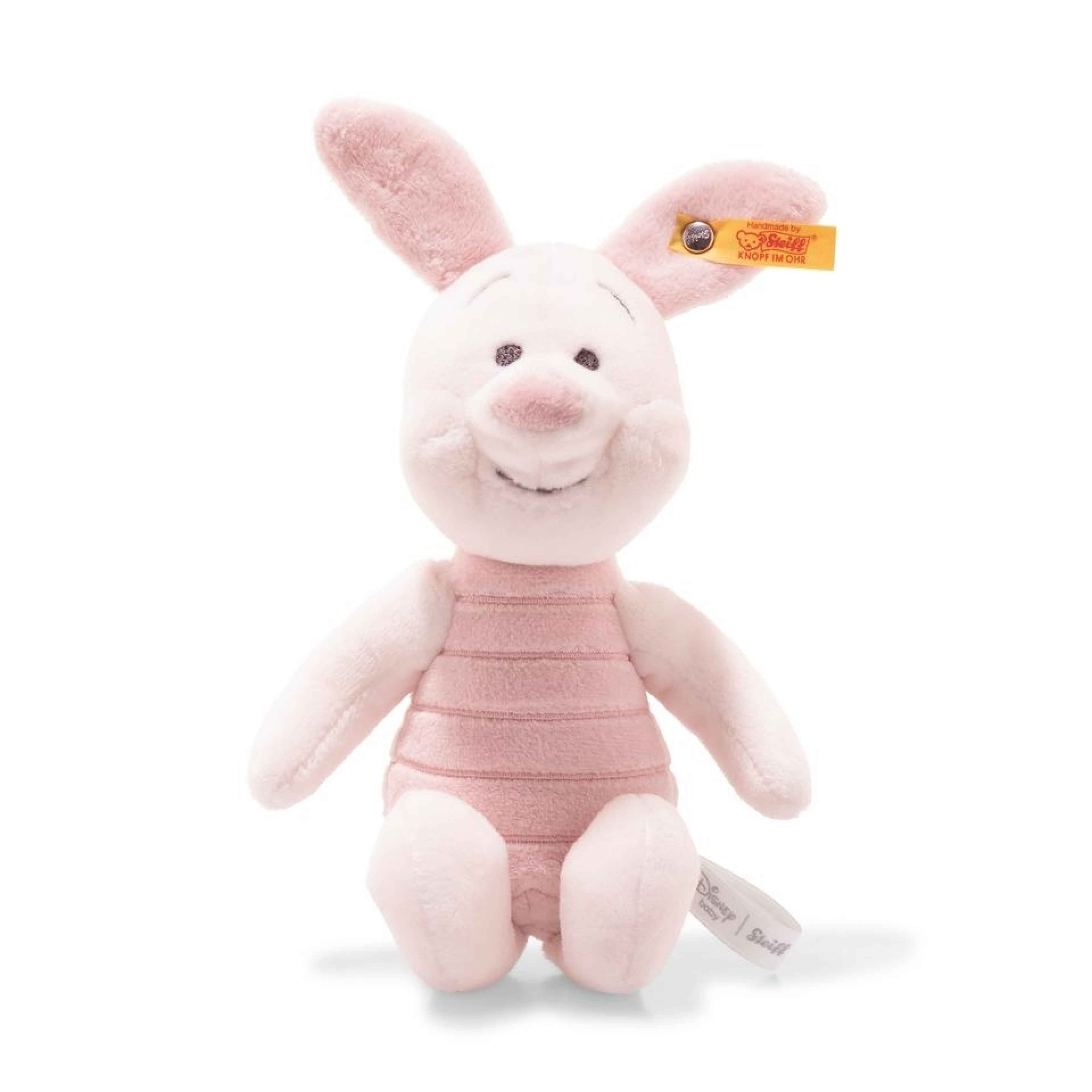 DISNEY PIGLET WITH SQUEAKER AND RUSTLING FOIL