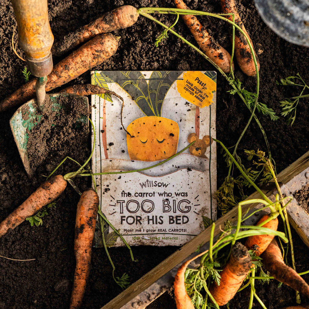 CARROT - THE PLANTABLE CHILDREN'S BOOK
