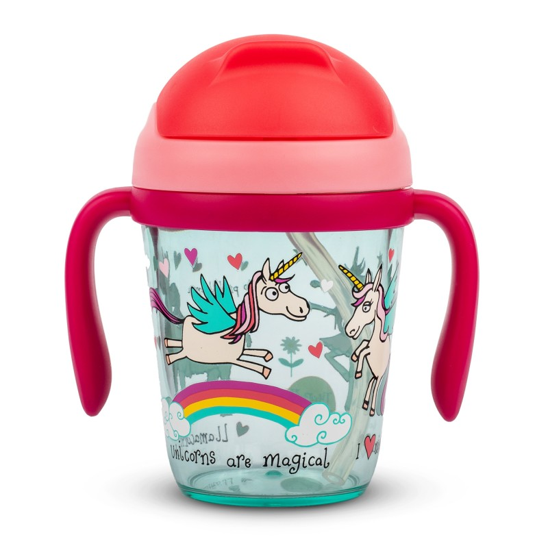 DRINKING BOTTLE - UNICORNS TODDLERS DRINKING BOTTLE