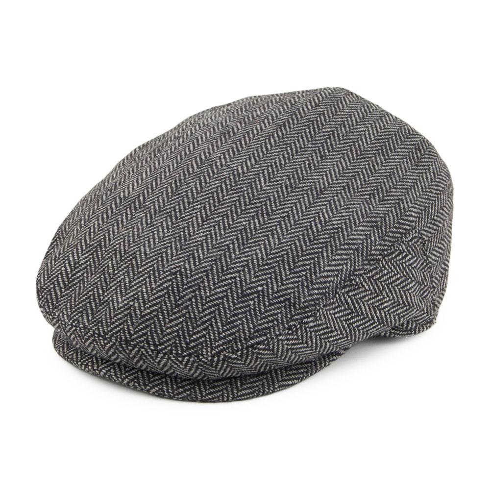 KIDS GREY FLAT CAP