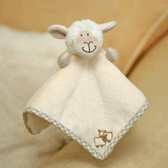 SHEEP SOOTHER/FINGER PUPPET JOMANDA